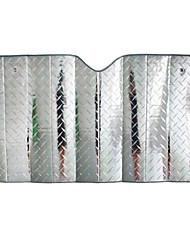 Laser-Film dboard Schaum Sonne Isolierung Anti-UV-Autosonnenschutz 140 * 70cm