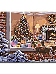 New Frame Picture Painting By Numbers Wall Art Hand Painted Oil Painting Home Decor For Living Room Of Christmas Gifts