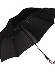 2016 venta caliente súper resistente al viento, paraguas resistente y protector solar lluvia con el mango de cristal con