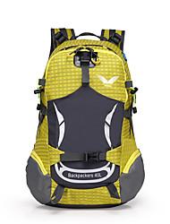 40 L Tourenrucksäcke/Rucksack Camping & Wandern Draußen Wasserdicht / tragbar / Atmungsaktiv Gelb / Grün / Grau / Blau / Orange Nylon