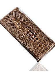 Women Wallet Coin Purses Holders Genuine Leather 3D Embossing Alligator Ladies Crocodile Long Clutch Wallets