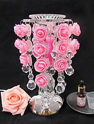gouttelette rose induction lampe aromathérapie lampe de parfum d'huile nightlight