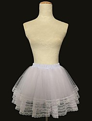 Slips Ball Gown Slip Short-Length 3 Acrylic White Black