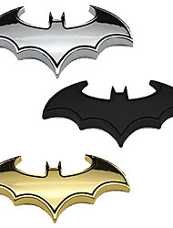3D Metal Car Stickers Personalized Car Batmobile Scratches Modified Car Stickers Marked