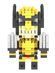 Blocs de Construction Pour cadeau Blocs de Construction Maquette & Jeu de Construction ABS 8 à 13 ans Jaune / Noir / Blanc Jouets