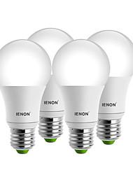 5W E26/E27 Круглые LED лампы A60(A19) 1 COB 400-500 lm Тёплый белый / Холодный белый Декоративная AC 100-240 V 4 шт.
