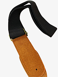 First Layer Of Leather Guitar Strap Advanced Electric Folk Guitar Strap Guitar Strap Factory Direct Selling Price