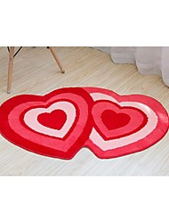 Polyester Wedding Decorations-1Piece/Set Aisle Runner Engagement / Wedding Garden Theme Red