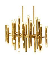 Chandelier ,  Modern/Contemporary Electroplated Feature for Designers Metal Living Room Dining Room Hallway
