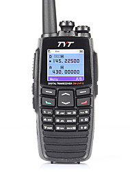 tyt dm-uvf10 DPMR digitais voicewalkie talkie dual band 5W 256ch vox varredura dual-band digital de rádio bidirecional