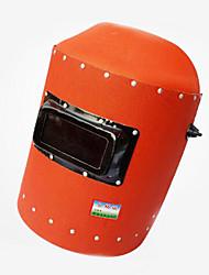 headset isolamento de papel de aço vermelho contra máscaras de solda quente anti-reflexo