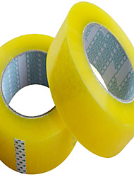 Factory Wholesale Transparent Tape 4.5 * 2.5 Yellow Tape Sealing Tape Taobao Express Shipping Tape