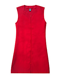 Kill the Teacher Red Long Clothing Vest
