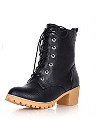 Women's Heels Spring / Fall  Cowboy / Western Boots / Riding Boots / Fashion Boots / Motorcycle Boots / Bootie / Combat