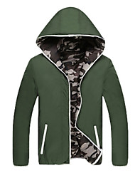 The winter coat popular youth foundation of public men's men wear camouflage new slim collar jacket.