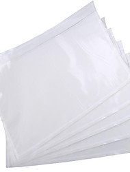 Pe Transparent Bags  Plastic Bags Blank Box  Container Window Stickers  A Pack Of Ten