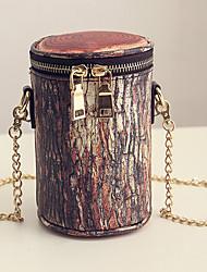 Для женщин Кожа другого типа На каждый день / Для шоппинга Сумка на плечо / Ковш сумки