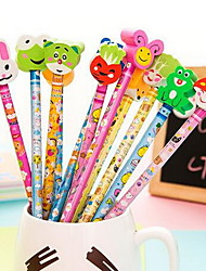 Students Prizes Lovely Gifts With Rubber Sets of Pencils