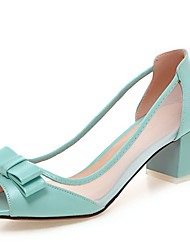 Women's Sandals Spring / Summer / Fall Peep Toe / Open Toe  Party & Evening / Dress / Casual Chunky HeelBowknot