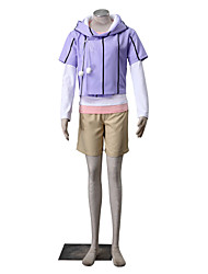 Inspired by Naruto Hinata Hyuga Anime Cosplay Costumes Cosplay Suits Solid
