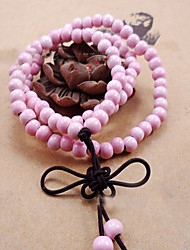 Strand Bracelets 1pc,Pink Bracelet Fashionable Circle 514 Ceramic Jewellery