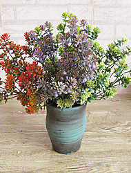 Hi-Q 1Pc Decorative Flowers Real For Wedding Home Table Decoration Plants Artificial Flowers