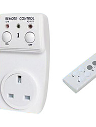 High-Power Can Pass Through the Wall Socket British Intelligent Remote Control Wireless Socket