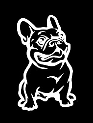 ZIQIAO Fashion French Bulldog Dog Car Sticker PET Cars Decal Weatherproof Auto Styling Cartoon Car Stickers