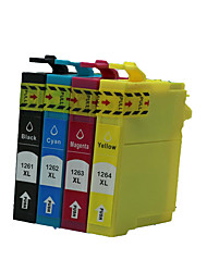 Suitable for Printer Cartridge A Group of Four Color Black, Red, Yellow, Blue