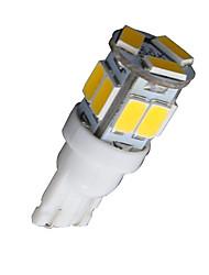 10X T10 W5W 192 168 194 7014 11SMD 5730 11 LED Warm White Side lights LED Wedge Light 12V