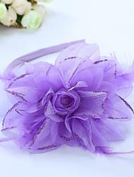 Girls Hair Accessories,All Seasons Chiffon / Organic Cotton / Roman Knit / Wool Pink / Purple / Red / White