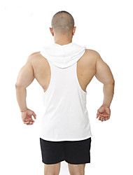Men's Sleeveless Running Vest/Gilet Hoodie Shirt Sweatshirt Tank TopsBreathable Quick Dry Static-free Lightweight Materials Sweat-wicking