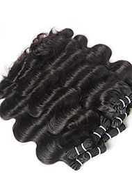 10-30inch 4 pieces Virgin Indian Body Wave Hair, Raw Unprocessed Virgin Indian Hair