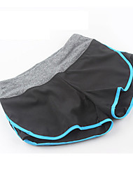Femme Course / Running Cuissard  / Short Short Respirable Séchage rapide Compression Confortable Printemps Eté Automne HiverYoga