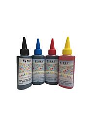 Canon чернила 100 мл, пачка 6boxes, каждая коробка разные цвета, черный, красный, желтый, голубой, светло-красный, светло-голубой