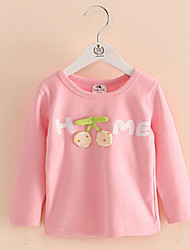 Cherry Shirt Baby Girls New Letters T-Shirt