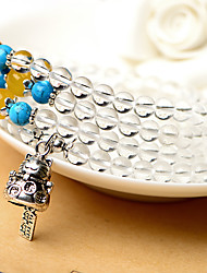 Strand Bracelets 1pc,Clear Bracelet Fashionable Circle 514 Crystal Jewellery