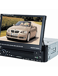 "7 ""1DIN LCD-Touch Screen digital Panel Auto-DVD-Player-Unterstützung iPod, Bluetooth, Stereo-Radio, RDS, Touch-Screen"