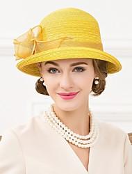 Women's Polyester Headpiece-Wedding / Special Occasion / Casual Fascinators / Hats 1 Piece
