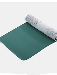 PVC Yoga Mats 183*61*0.8 Eco-friendly / Sem Cheiros 3.5 Verde No