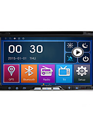 2 Din 6.95''Car DVD Player with GPS Navi Radio in Dash Built-in 3G/Wifi BT SWC USB/SD