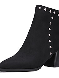 Women's Boots Fall / Winter Riding Boots / Pointed Toe Suede Outdoor