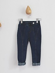 Girl's Casual/Daily Solid Pants / Jeans,Cotton Spring / Fall Blue