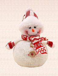 1pc Hat Snowman Pendant Christmas Tree Decoration Xmas Party Supplies