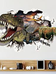 Fantaisie Stickers muraux Stickers muraux 3D Stickers muraux décoratifs,PVC Matériel Repositionable Décoration d'intérieur Wall Decal