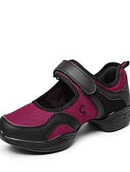 Non Customizable Women's Dance Shoes  /  Fabric Dance Sneakers / Modern Boots / Sneakers Flat HeelOutdoor