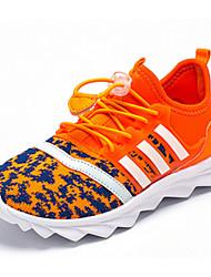 Garçon-Sport-Noir / Bleu / Rouge / Orange-Talon Plat-Bout Arrondi-Sneakers-Tulle / Polyuréthane