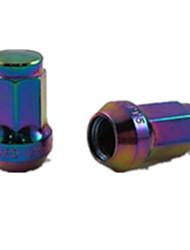 los siete especial ángulo de la rueda modificada antirrobo tuerca de tornillo 20 + 1 tuerca modificada (con las herramientas anti-robo)