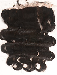 13X4'' Ear to Ear Lace Frontal Closure Peruvian Virgin Hair Body Wave With Baby Hair