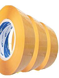 largura de banda de plástico transparente de vedação de 5,5 centímetros de largura e 3,0 centímetros de espessura fita de embalagem fita